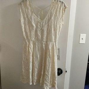 Beautiful Ivory lace dress